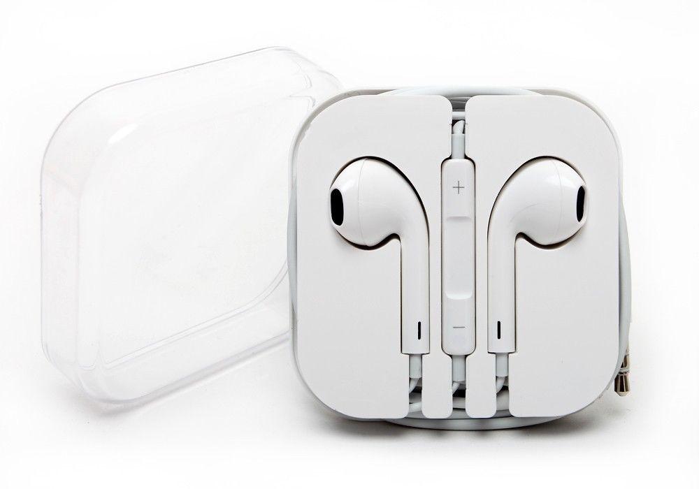 New OEM Original Genuine Apple Iphone 5 5S 5C EarPods Earphones W/ Remote & Mic