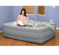Pure Comfort 6009FRB 舒适植绒充气床垫(配充气泵)