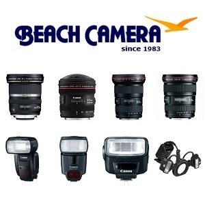 Beach Camera: Up to $300 Rebate on Canon Lenses & Speedlite