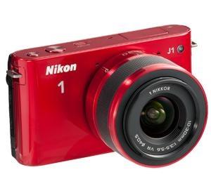 Nikon 1 J1 Digital Camera Body with 10-30mm VR Lens, Refurbished