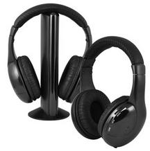 Ematic 头戴式无线耳机及发射器套装 EH157