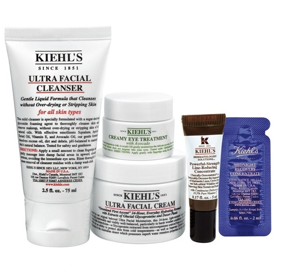Kiehl's基础护肤套装