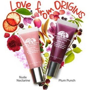 Origins: Free Drink Up Lip Balm + Free shipping