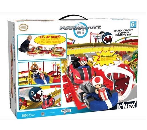 Groupon:K'NEX Mario Circuit Ultimate Building 马里奥赛车轨道儿童玩具套装