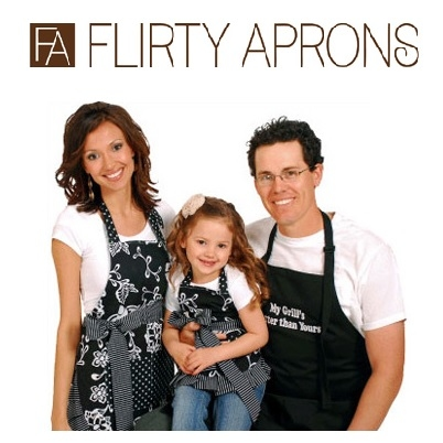 Flirty Aprons: Annual Super Sale From $4.95