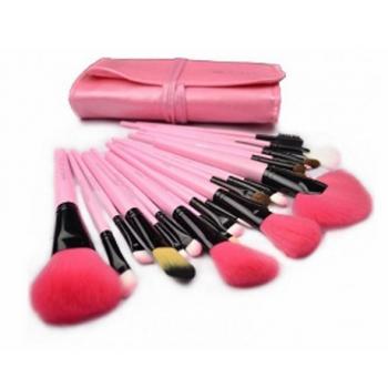 24 Piece Professional Cosmetic Brush Kit