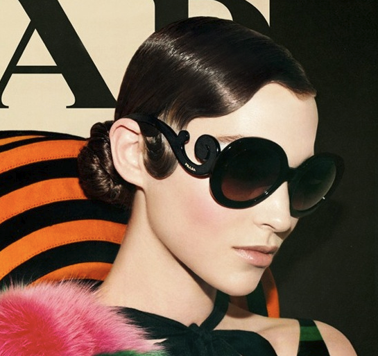 ideeli: Prada全场特卖 浮云眼镜只要$199.99