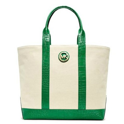 MICHAEL Michael Kors Fulton Canvas Large Tote