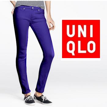 Uniqlo: 精选女式紧身牛仔裤特价低至$5.9