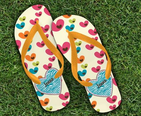 Custom Flip-Flops from CafePress
