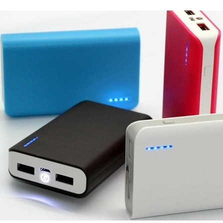 Urge Basics 6,000mAh Dual-Port Power Bank with Built-in Flashlight
