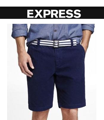 Express: 精选男式短裤买1条第2条仅需$19.9