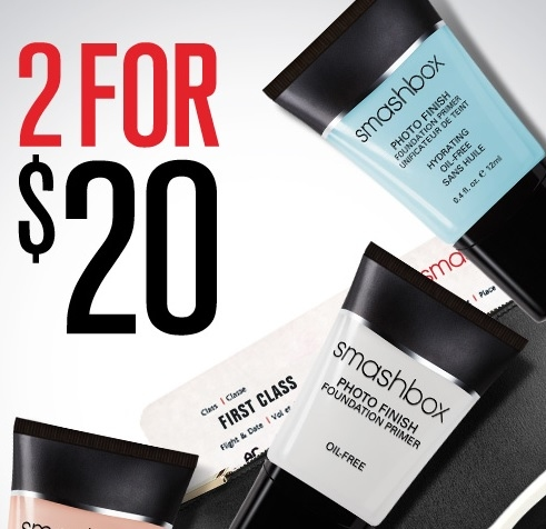 Smashbox: Travel-Size Primers 2 for $20