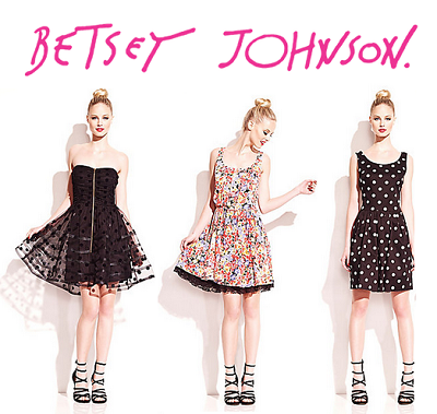Betsey Johnson: 50% OFF Select Women's Apparel, Shoes, and Accessories