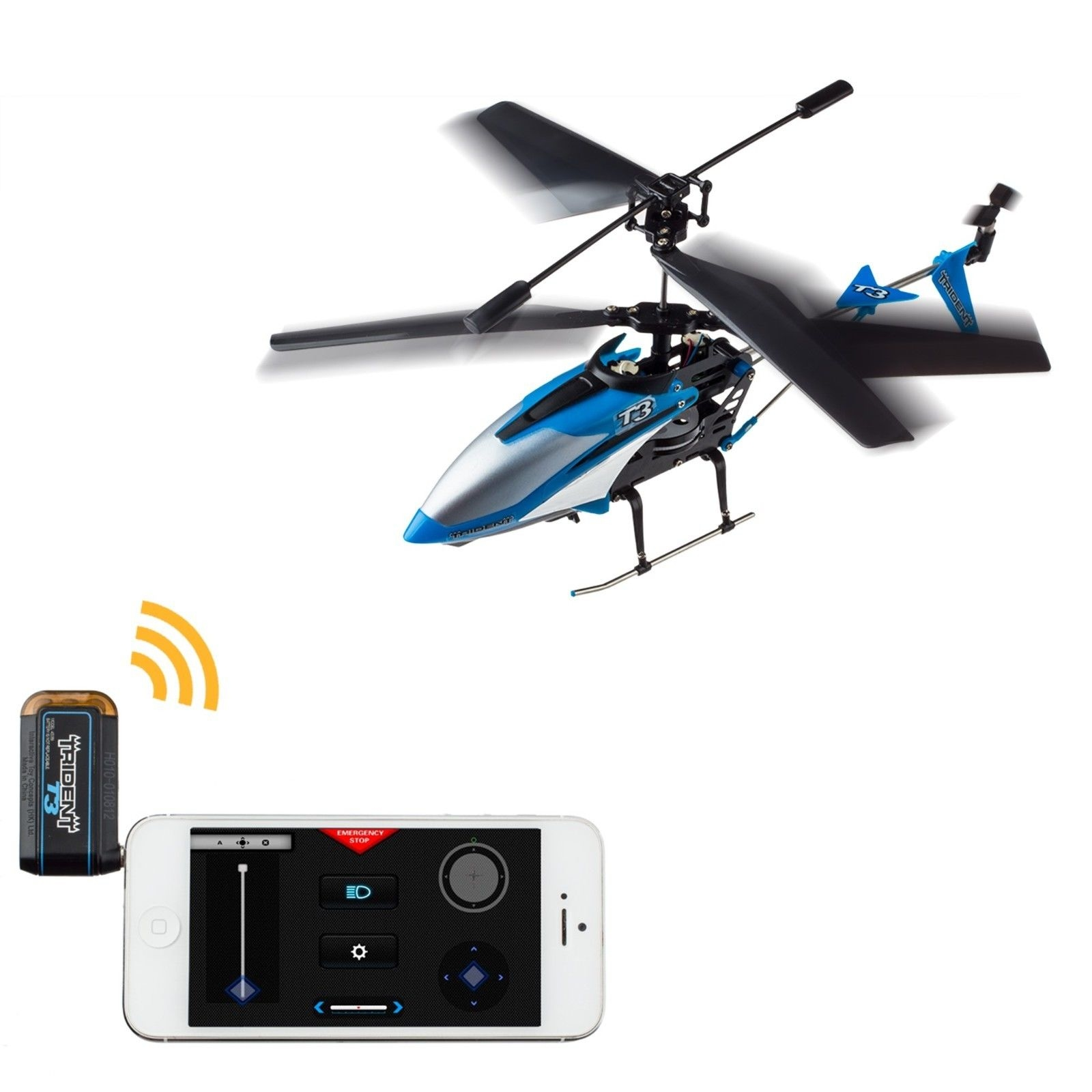 BladeRunner Trident T3 Smart Device 3-Channel Gyro Helicopter
