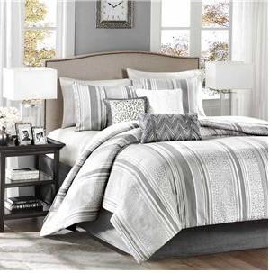 Madison Park Lowery 7 Piece Comforter Set