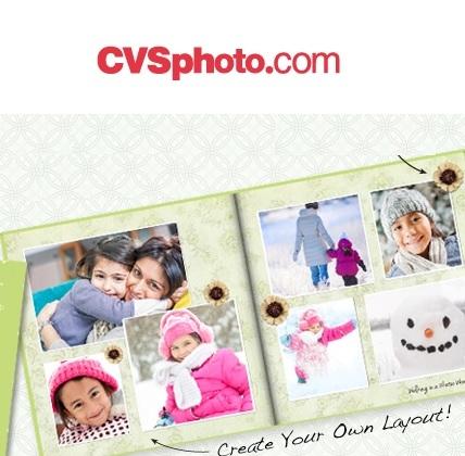 CVS Photo:订做相册享受35% OFF