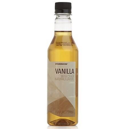 Starbucks Verismo Vanilla Syrup