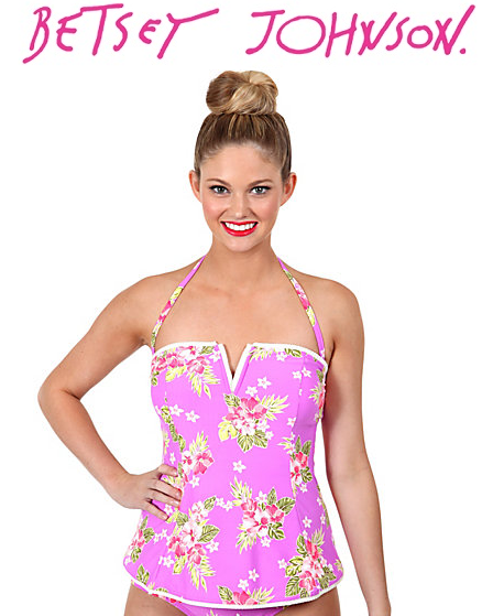 Betsey Johnson: Up to 25% OFF Swims & Jewelry