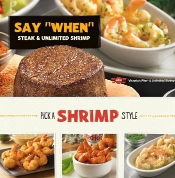 Outback Steakhouse: Steak & Unlimited Shrimp