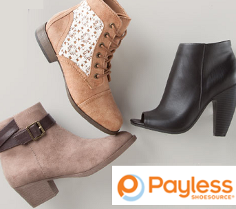 Payless Shoes: BOGO 50% OFF + Extra $10 OFF $25