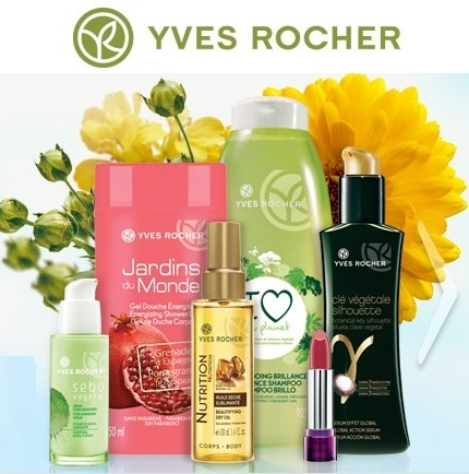 Yves Rocher: $7 OFF $35 plus Free Shipping