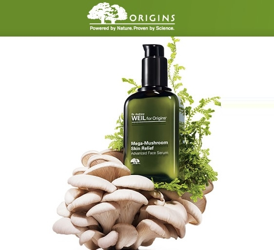 Origins: Free Mega Mushroom Trio with $40 Purchase