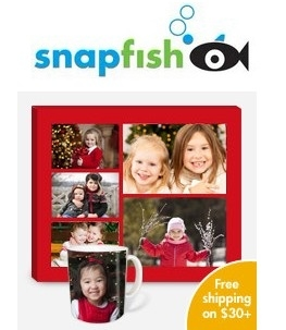 "Snapfish: Free 20-Page 5x7"" Soft Cover Photobook"