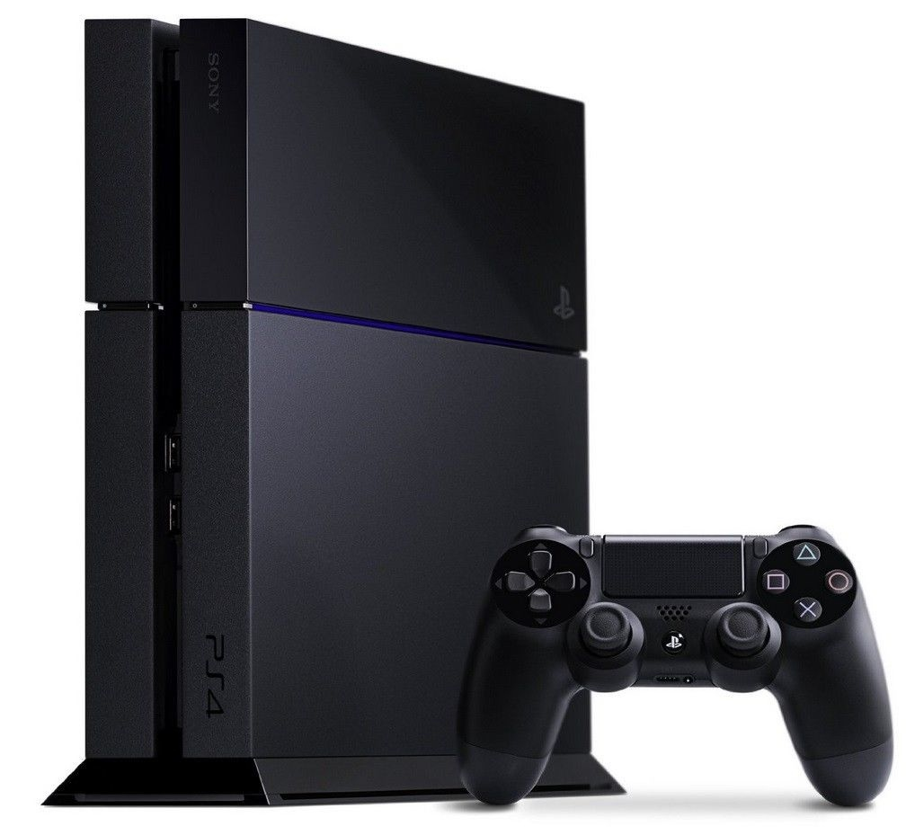 Sony PlayStation 4 (Latest Model)- 500 GB Jet Black Console