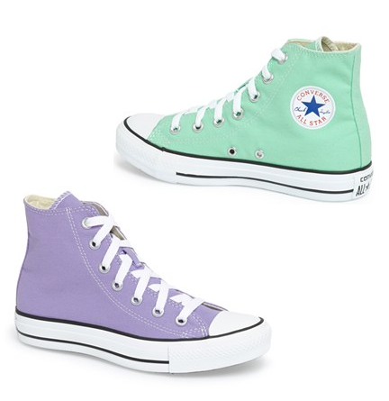 Converse Chuck Taylor All Star女款高帮帆布鞋