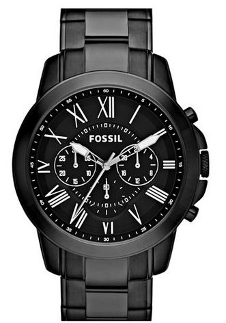 Fossil Grant Chronograph 休闲手表