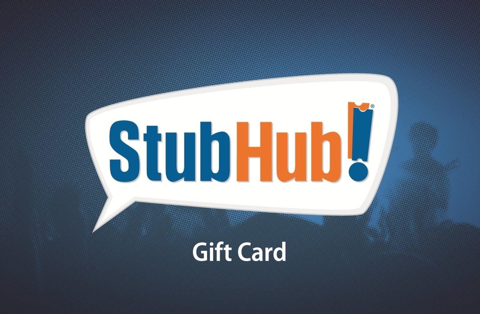 $100 StubHub 礼卡