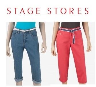 Stage Stores 官网:Levi's 和 Docker's 品牌 Capris 七分裤特卖,折扣可达40% OFF + 额外25% OFF