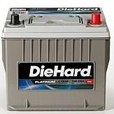 所有 DieHard 系列汽车电池可享20% OFF 优惠