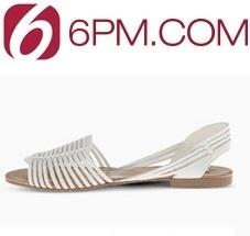 6pm:精选白色鞋包、配饰等特卖高达81% OFF