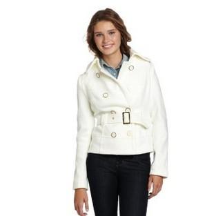 Southpole 女生款双排扣外套