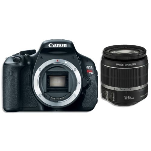 Canon T3i +18-55mm IS Lens