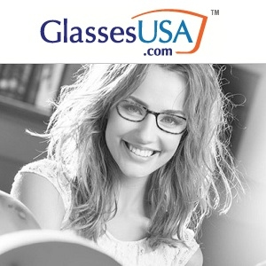 GlassesUSA: 50% OFF All Frames+ Free Shipping