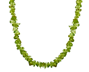 149 ct Peridot 橄榄石项链