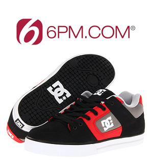 6pm: DC, Supra, Osiris 等品牌鞋包等高达70% OFF