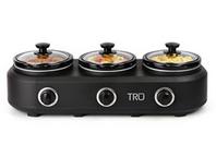 TRU 3-Crock Buffet Slow Cooker BS-315R