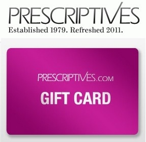 Prescriptives: $25 Gift Card with $100 Purchase