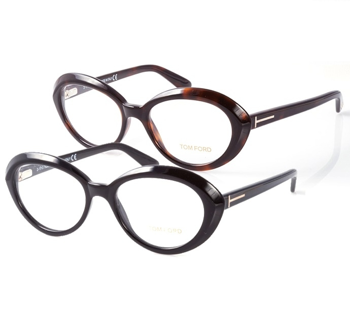 Tom Ford Retro Cat Eye Ladies' Eyeglass Frames