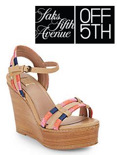 Saks OFF 5TH: NINE WEST 等时尚凉鞋高达60% OFF