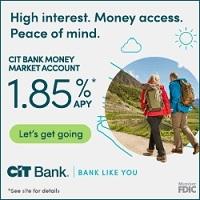 CIT Bank 1.85% Premier High Yield Savings