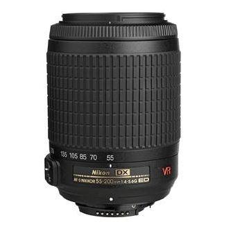 Cameta Camera: Refurbished Nikon 55-200mm f/4-5.6G VR DX AF-S ED Zoom-Nikkor Lens