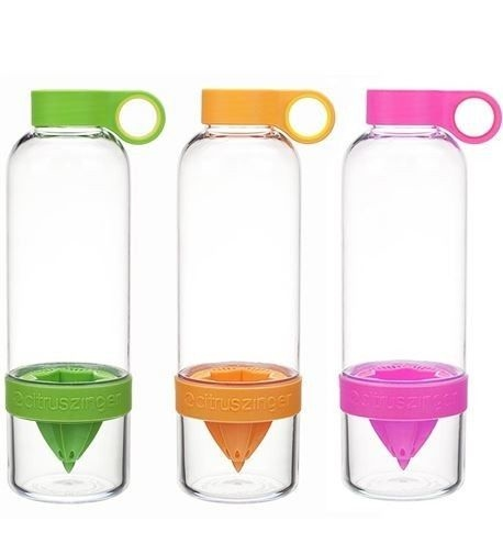 Zing Anything CITRUS ZINGER Fruit Flavored Water Infuser Bottle