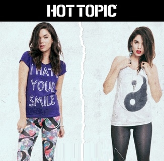 Hot Topic: 25% OFF Reg Price, Up to 75% OFF Clearance