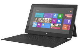 Microsoft Surface 64GB Bundle with Black Touch Cover