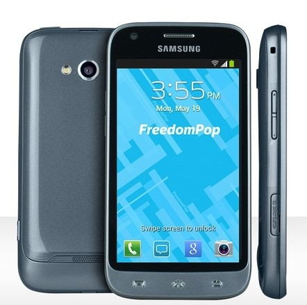 FreedomPop Free LTE Mobile Phone Service with Samsung Victory Phone (Refurbished)